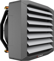 Fan heater with expanded polypropylene casing - LEO