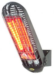 Electric infrared heater for outdoor terraces - Lucciola