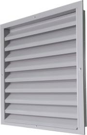 Wall external weather louvres CzS-A