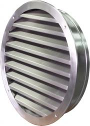 Wall external intake louvres round CzS-B