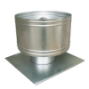 Cylindrical roof exhaust