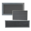 Doors air grilles