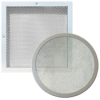 Metal-mesh air grilles