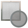 Perforated air grilles