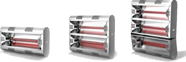 Hathor Low Glare infrared heaters